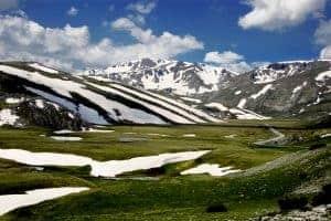 Natuurgebied Mavrovo in Macedonië