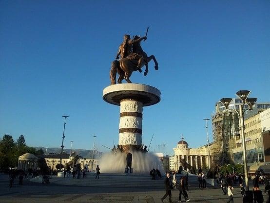 Skopje en Alexander de Grote