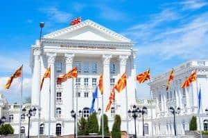 Overheidsgebouw van de Macedonische regering