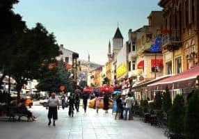 Bitola centrum Macedonië