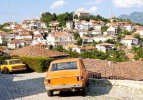 Uitzicht Macedonië Ohrid